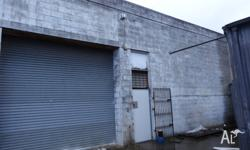 Vacant factory/Warehouse. Area: 275 meters square.