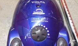 Vaccuum Cleaner. Volta 1600W $20 neg -Used but in great