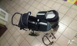 Valco matrix gt pram and bassinet. Only used for 12