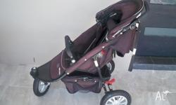 Black Valco pram 3 years. Hasn't been used in 12 months