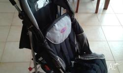 Valco stroller Good used condition Hood with clear