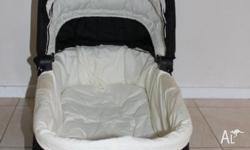 I am selling a Valco Trimode Bassinet. It is in mint
