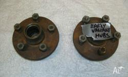 I have a pair or old Trailer Wheel Hubs to suit early