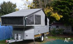 Van Cruiser Silver Bullit Camper Trailer Off Road
