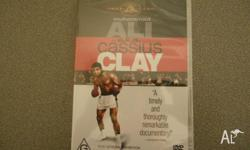 Variety of dvd's for sale: 1. Muhammad Ali in a.k.a.