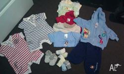 loads of baby boys clothing from smoke free and pet