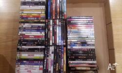 Various DVD's. Picture 1 of various DVD's are $1 each