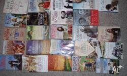 Various female novels, 24 in total & include Rosie