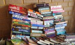 many books for sale mens womens and childrens $2 each