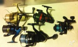 1 x Surf reel, 4 x Boat combos - price is for lot