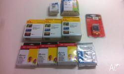 9 cartridge packets in total (1 combo pack) as per