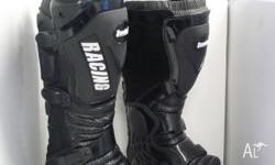 VCAN TANKED,MX BOOTS,MX BOOTS,2010, Black, MOTOCROSS,