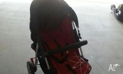 Great full range pram. Can be laid back for sleep or