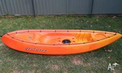 Selling Venturer kayak. Also comes with Seak Paddle,