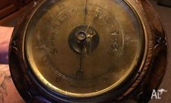 hi i have this very rare old aneroid barometer with