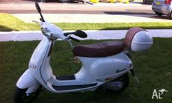Fantastic little scooter, runs like new. Never had any