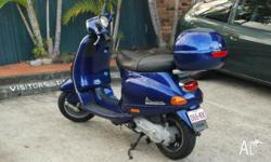 Beautiful scooter, selling due to move overseas. Very