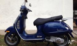 This Vespa GT200 has been lovingly maintained and