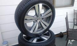 Brand new wheels and tyres VF SS 18x8 mags with