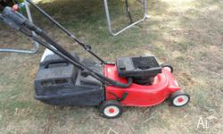 I am offering a VICTA 2 Stroke Lawn Mower. It has good