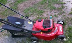 Victa 2 stroke mower serviced ready to mow 60 days
