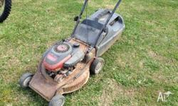 In very ordinary condition but, does the job. Runs and