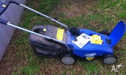 This mower is fully battery charged. We have had it for