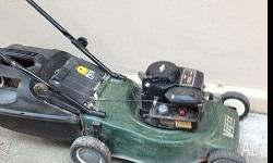 Victa lawn mower with catcher. Good condition. Phone