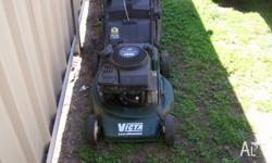 MOWER AND CATCHER BOTH IN GOOD CONDITION