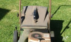 Vintage Victa Lawn Mower - 30 years old. 24 inch blade,