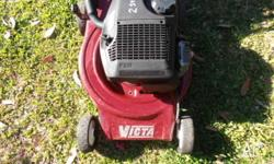VICTA 2 STROKE LAWNMOWER POWER TORQUE ENGINE GOOD MOWER