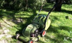 VICTA Mustang Mower and Catcher, Great Condition Get