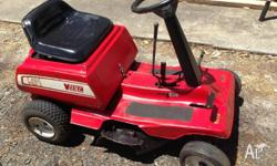 Victa Rideon Lawnmower $500ono Comes with a Briggs and