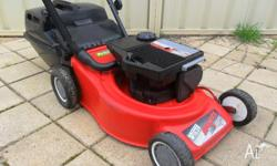Victa sports 2 stroke lawnmower Starts easy and gives a