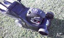 excellent mower, has a hot dipped galvanised blade