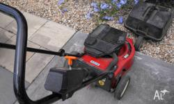 Selling one Victor lawn mower with catcher ,two stroke
