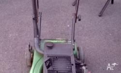 Victor 2 stroke lawnmower in great condition. Has