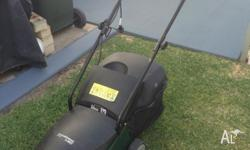 For Sale is a Victor Lawnmower/Lawnkeeper Electric -