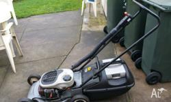 Victor mower Mulche And catch Good condition Good body