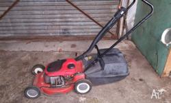 Victor mower Mulcher and catch Two stroke Good
