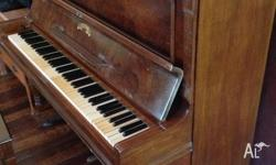 Victor piano and piano stool for sale, good condition,
