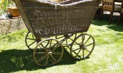 This is a large Victorian pram in original unrestored