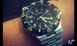 For sale is a genuine Victorinox Swiss Army watch. Do