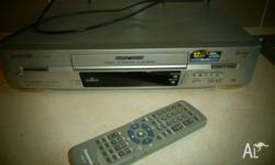 I have for sale a panasonic video player�recorder comes