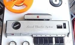 Vintage Reel to Reel Tape Recorder Brand - National