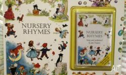 Nursery Rhymes Book & Tape Set by Jan Francis 45