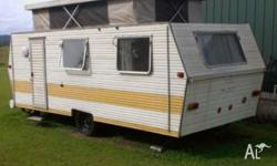 1978 Push up roof 16ft caravan. New wiring and tyres,