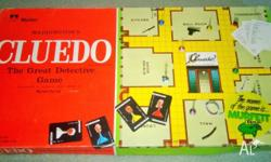 Vintage Cluedo Board Game by Waddingtons 1965 - Great