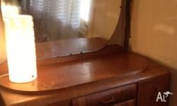 Selling my Grandmothers old wooden Dressing Table with