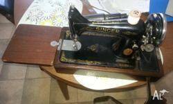 1937 model. Serial No EB 399125. knee operated. Good